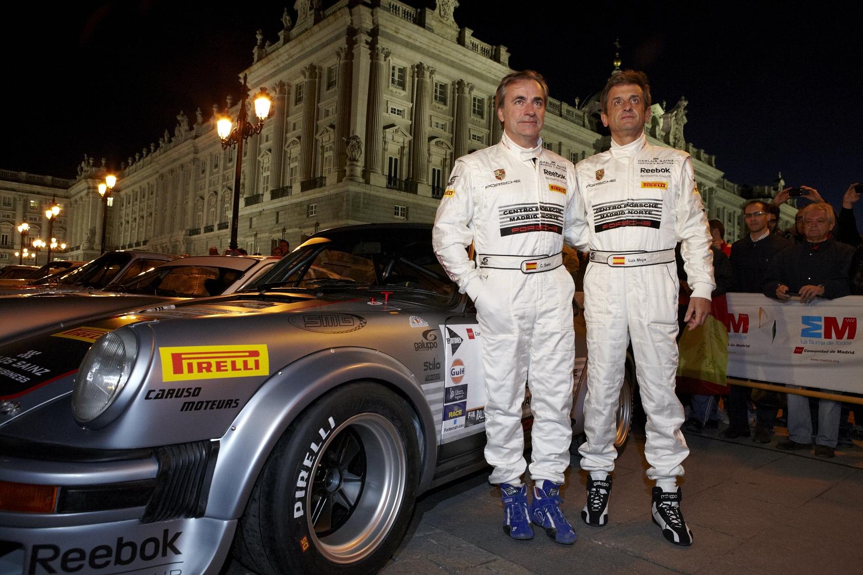 Carlos Sainz correrá con un Porsche 911 en el Rallye de España Histórico puntuable para el Campeonato de Europa