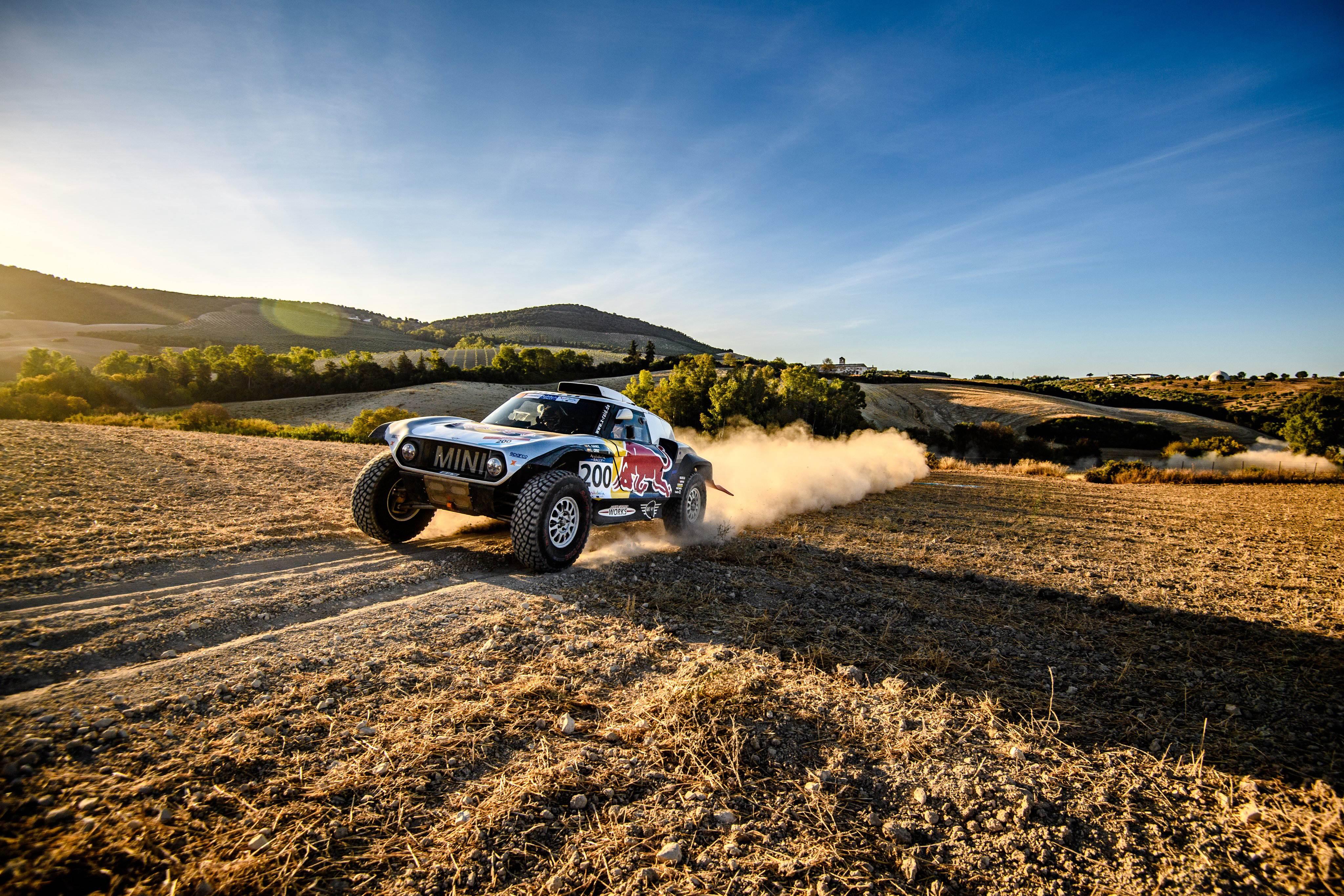 Sainz segundo en la primera etapa del Rallye de Andalucía
